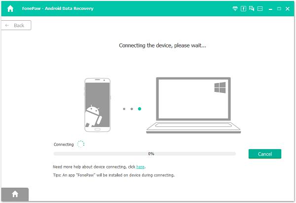 Conectar el teléfono Android al PC