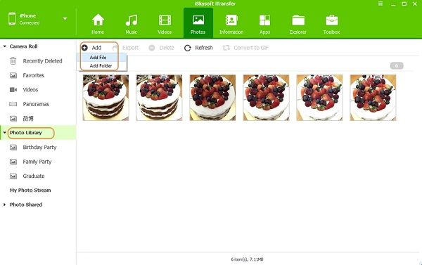 transferir fotos de mac a android