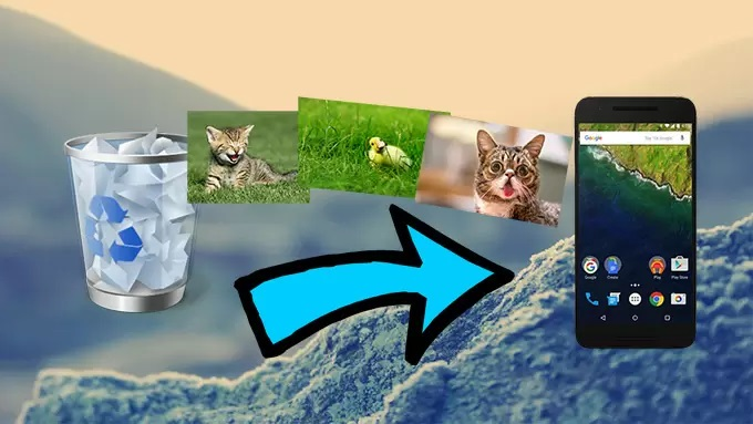 Recuperar fotos borradas de Android | Métodos fáciles