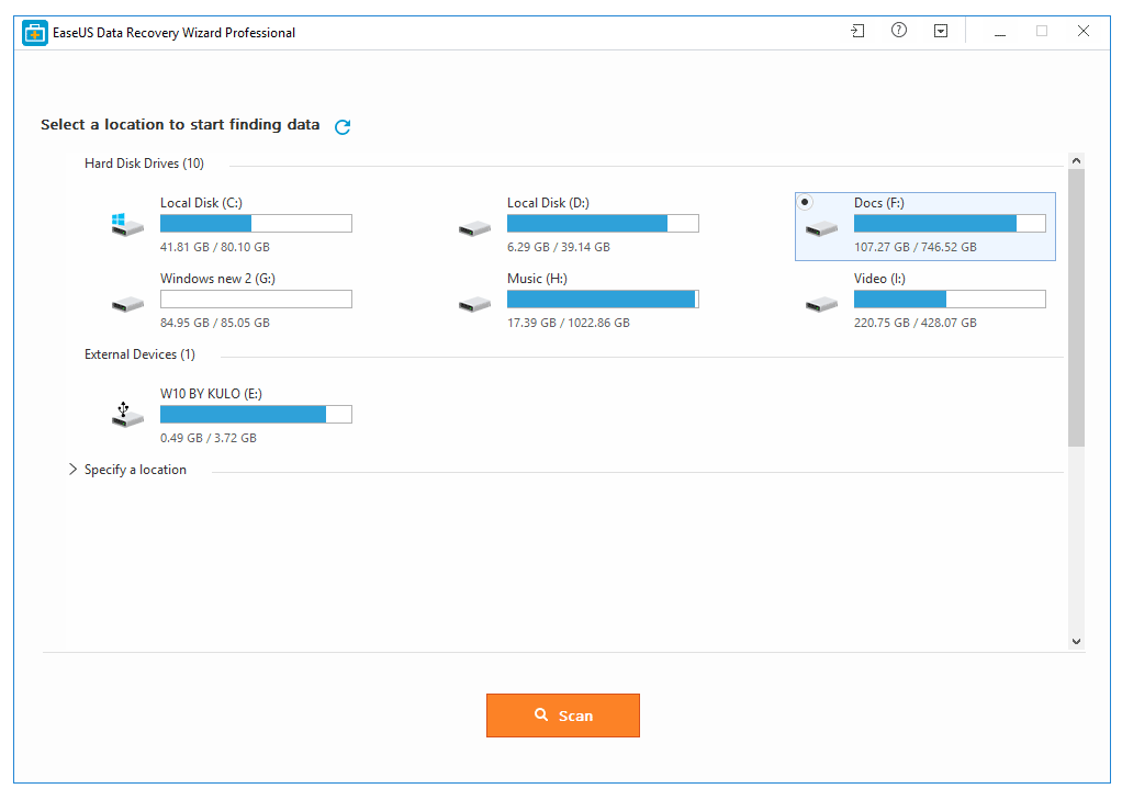 Cómo recuperar datos del disco duro con EaseUS