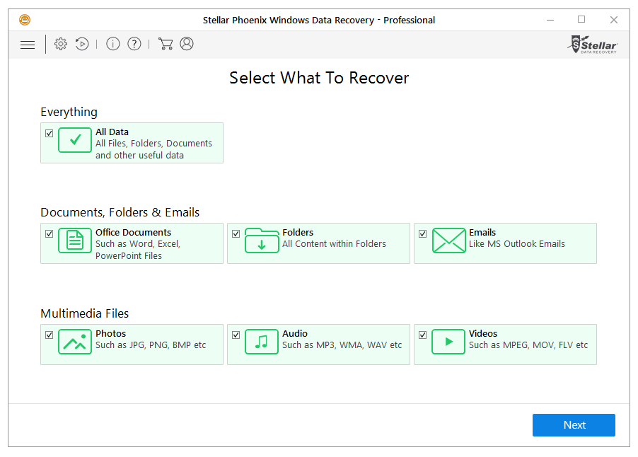 Recuperaci贸n de datos enWindows con Stellar Phoenix