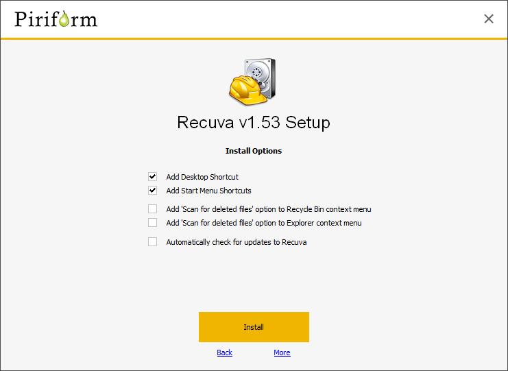 Cómo recuperar archivos de una tarjeta de memoria formateada con Recuva App